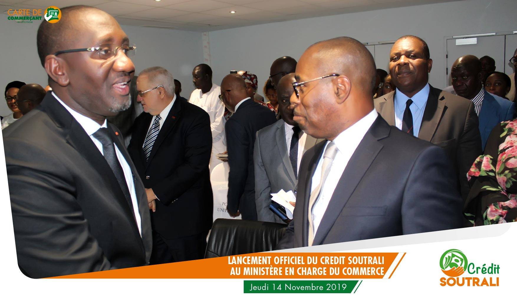 Le Ministre et le DG de UNITEC