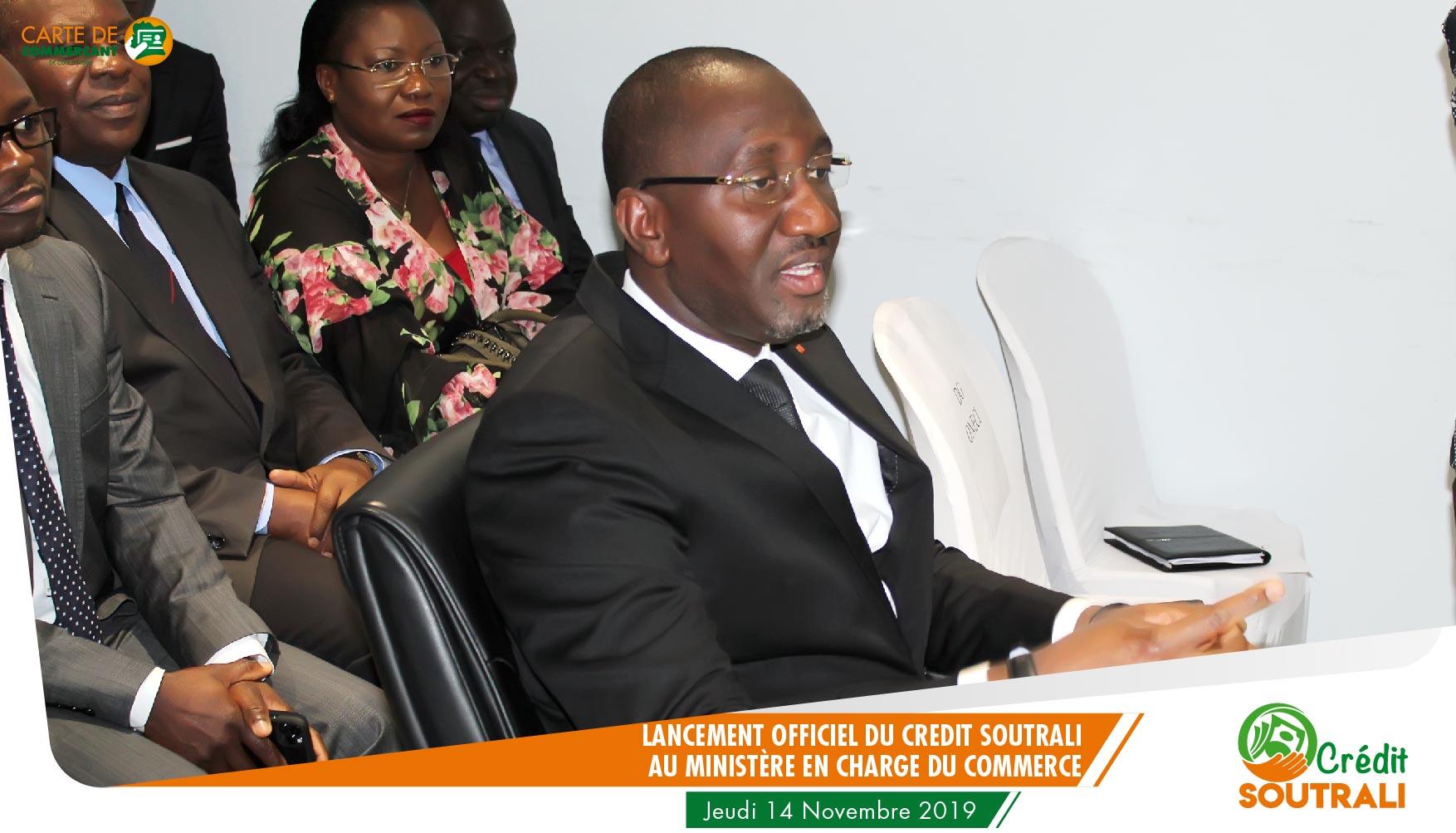 Le Ministre Souleyman DIARASSOUBA