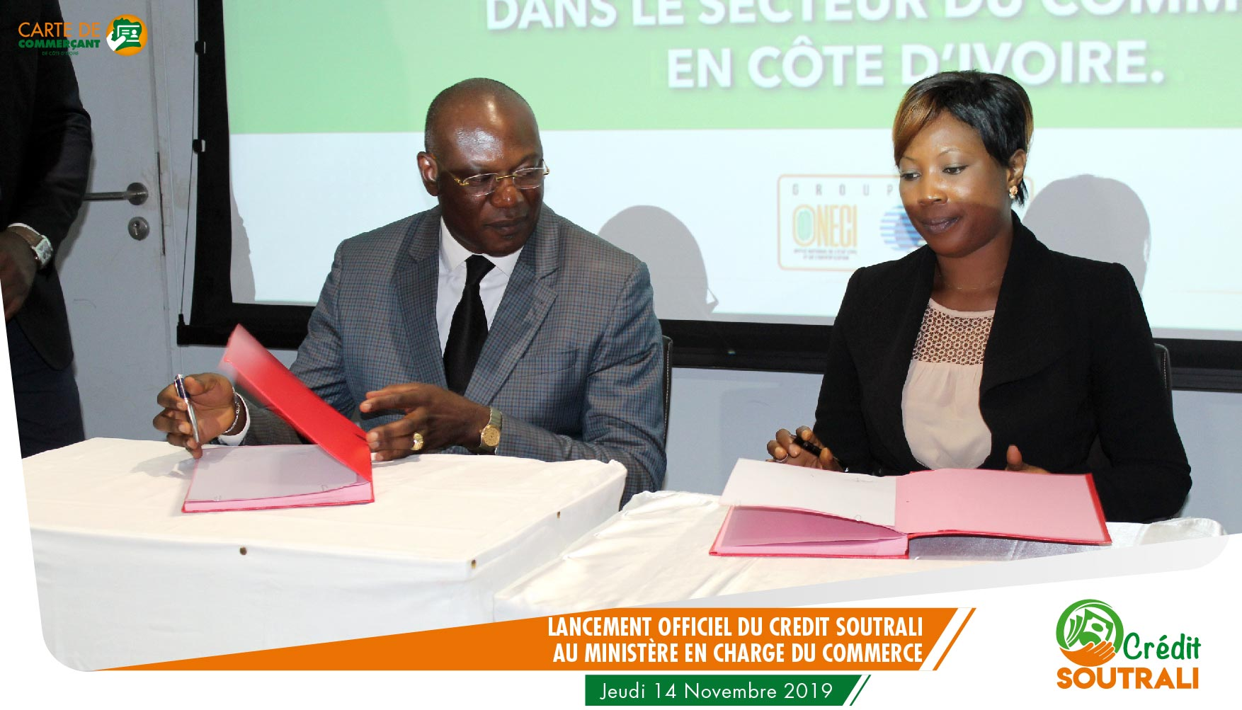 Signature de Convention