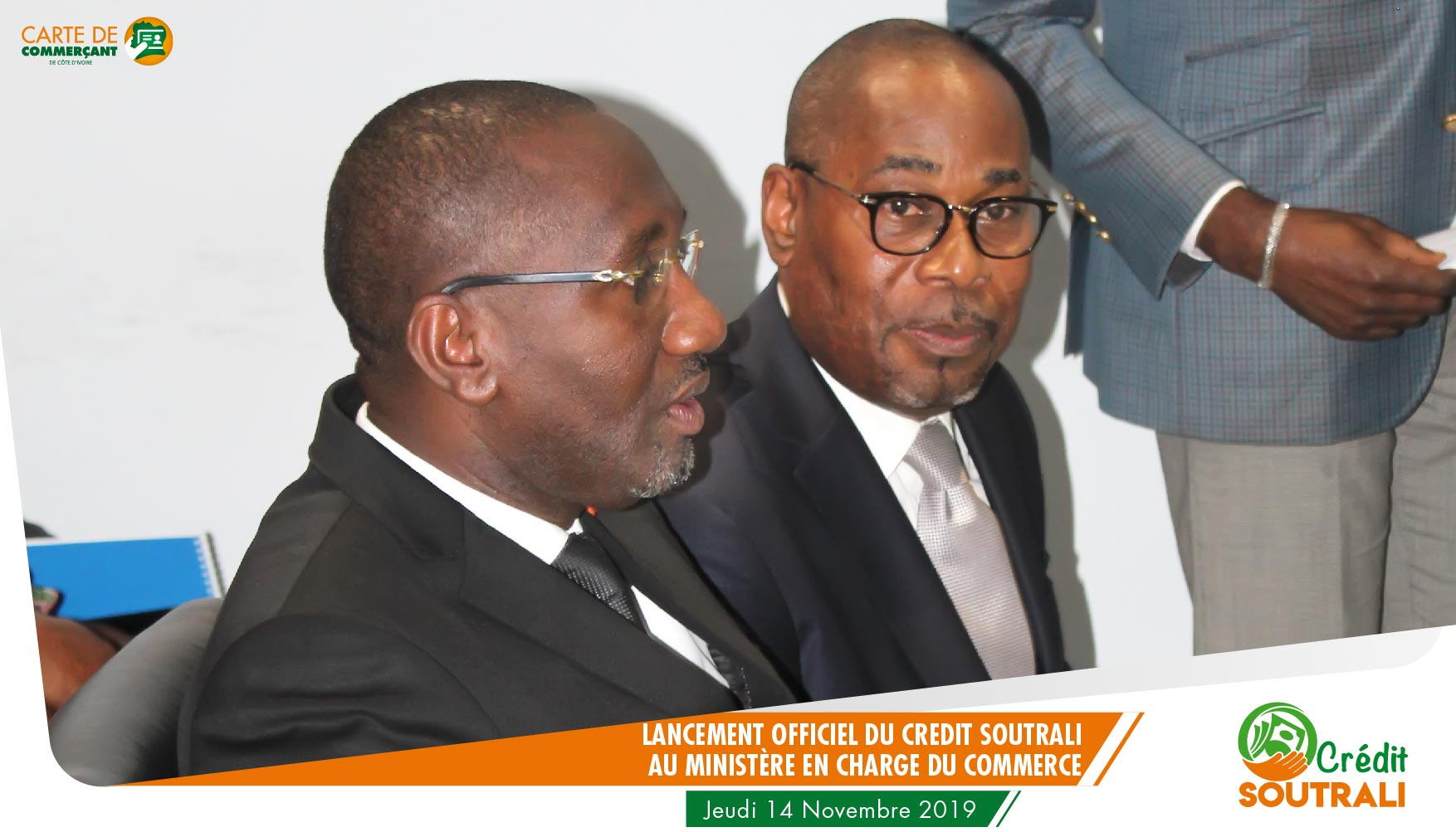 Le Ministre et le DG d'UNITEC