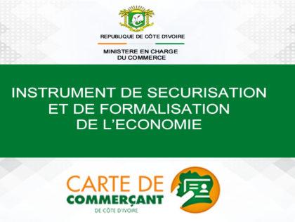 INSTRUMENT DE SECURISATION ET DE FORMALISATION DE L'ECONOMIE