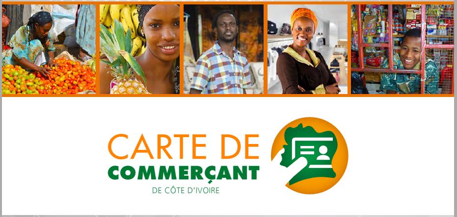 Carte de Commerçant de Côte d'Ivoire-Brochure