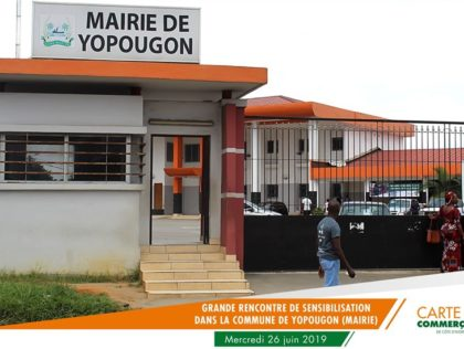 RENCONTRE DE SENSIBILISATION A YOPOUGON