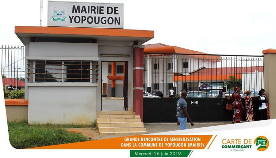 Carte de commerçant de Côte d'Ivoire-rencontre Yopougon